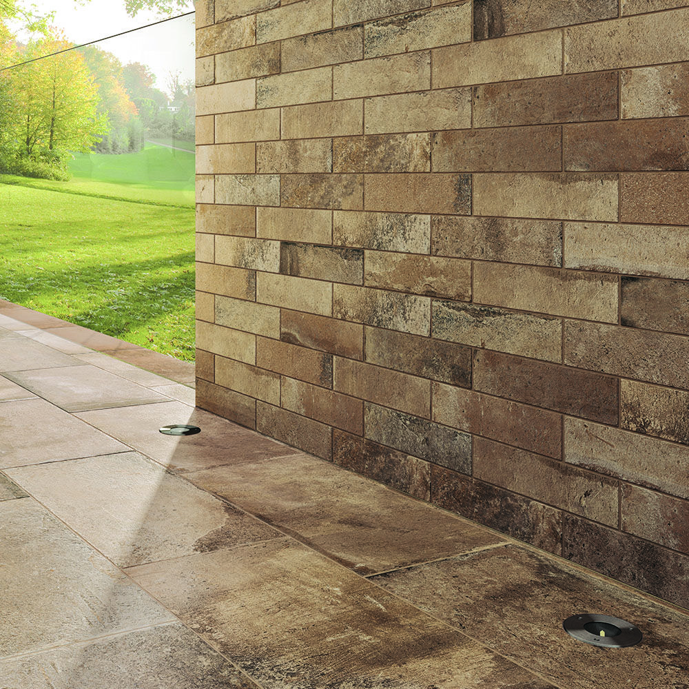 Carrelage Decor Briquette Effet Pierre 6 2x25 Volterra Grip