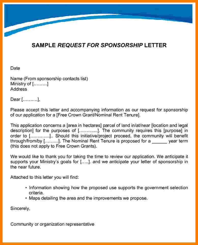 how write request letter examplequest sampleg best practices for - how to write a sponsorship letter template