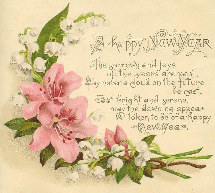 Happy New Year Vintage happy new year, Happy new year