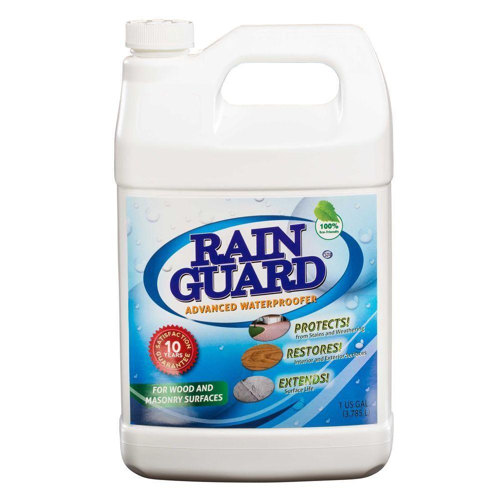 RAIN GUARD 1 gal. Advanced Multi-Surface Masonry and Wood ...