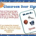 free...Use these signs that contain real pictures to let others know where you are at when you are out of your classroom!    Great resource for young stud...
