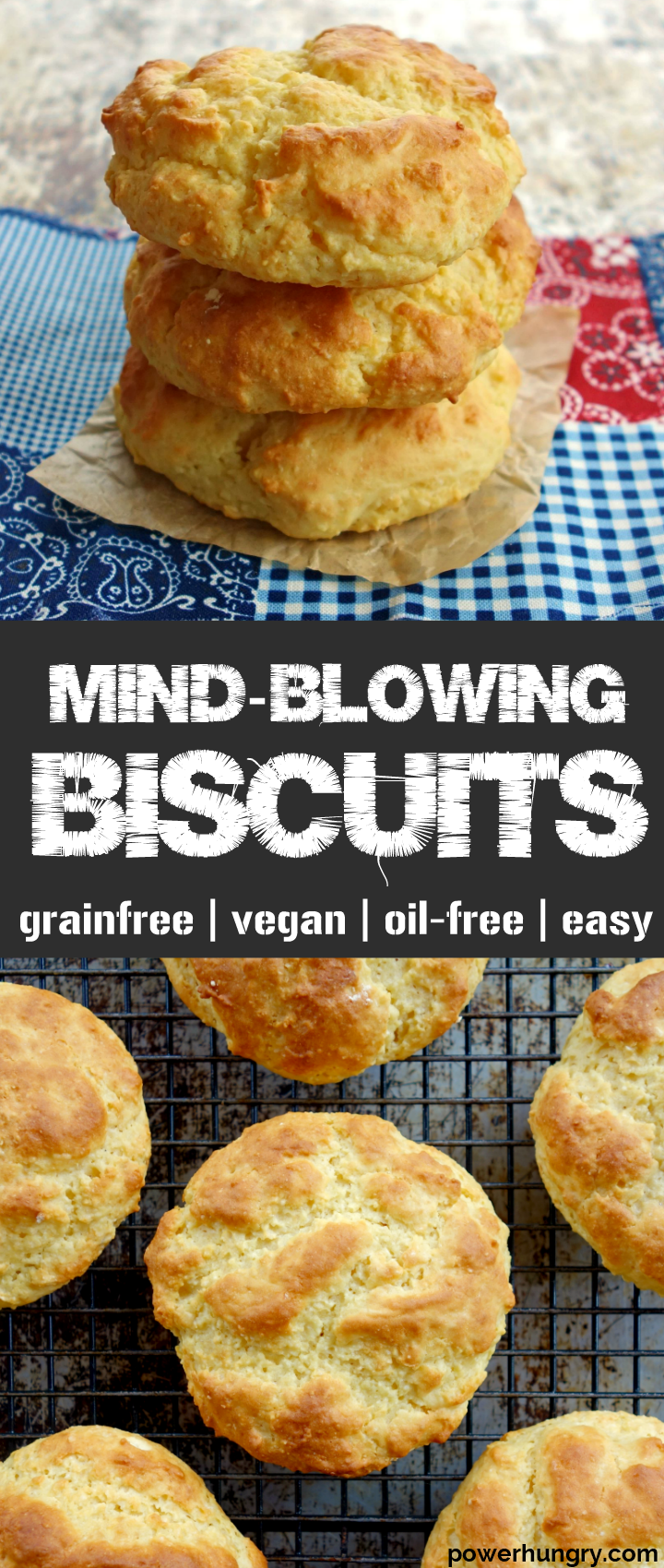 Mind Blowing Biscuits Grain Free Vegan Oil Free Easy