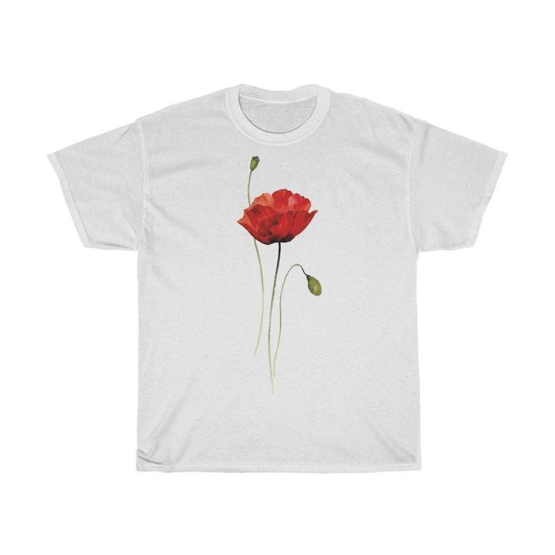 Poppy Flower Gorgeous T Shirt Poppies Poppy Flower T Shirt
