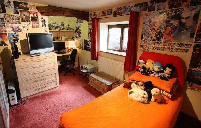 Anime Room Kids Bedroom Makeover Cool Room Designs Anime Themed Bedroom