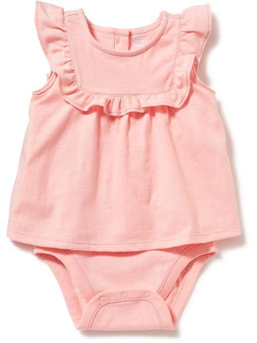 1e389c89306 2-Pack Shirred Tank Romper for Baby