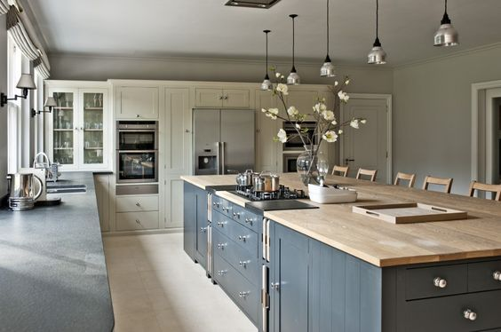 Chilterns Family Home Neptune By Sims Hilditch Contemporary Kitchen Kitchen Layout Kitchen Island With Cooktop