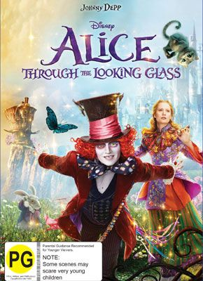 Win Alice Through The Looking Glass | Television New Zealand | Ends 11th Nov 2016