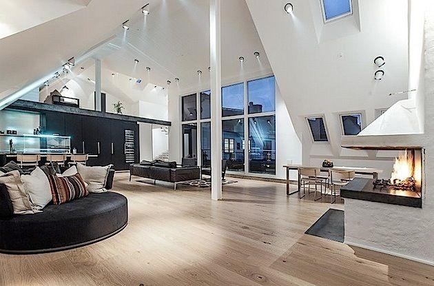Attraktiv Penthouse Wohnung In Schweden | KlonBlog