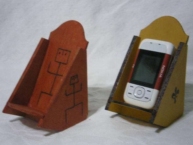 Mobile Porta Telefono Moderno.Porta Celular De Escritorio Delartesano Porta Celulares