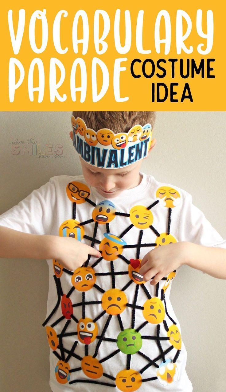 Vocabulary Parade Costume Idea Feeling Ambivalent (With