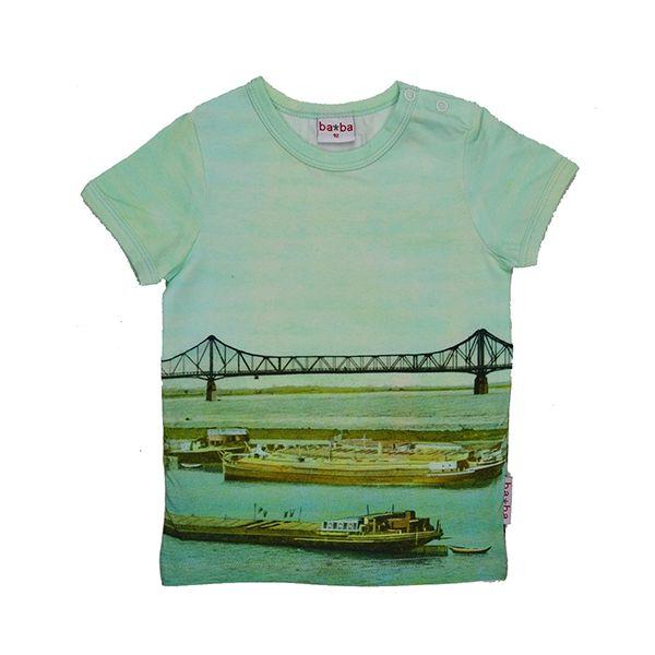 ba*ba kidswear T-shirt fotoprint #EKOkatoen #GOTS #duurzaam ekodepeko.nl