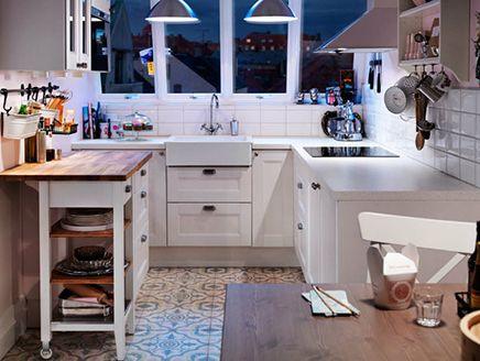 Keuken Ikea Inrichting : U vormige ikea keuken interieur inrichting kitchen