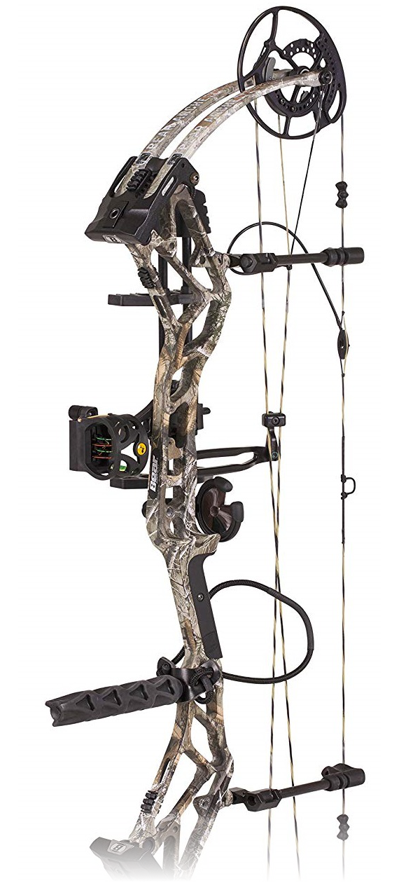 Bear Archery BR33 Hybrid Cam Compound Bow 330FPS Ready To Hunt  FREE
