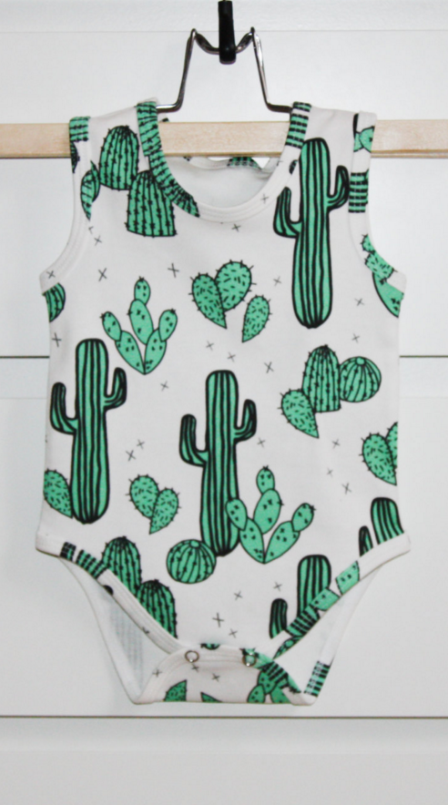 9c4e410d1 Cactus & Prickly Pears Organic baby onesie, baby bodysuit, baby clothes ,baby…