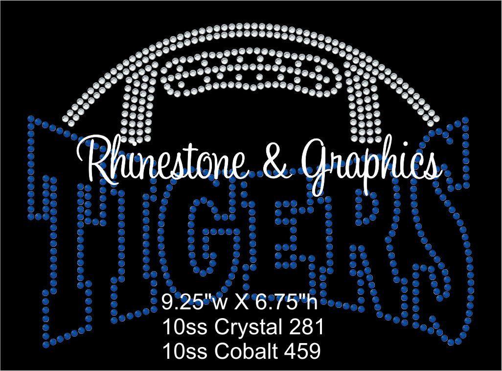 6320a256dfc31 Rhinestone Football Pirates Design Pattern Graphic Design Instant Download  EPS…