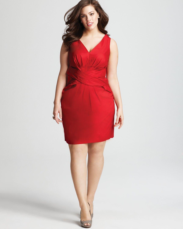 Dknyc Plus Size Twist Belt Dress Women Plus New Arrivals Bloomingdale S Cute Red Dresses Dresses Plus Dresses [ 1500 x 1200 Pixel ]