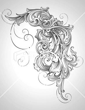 Image Detail for - And This One Is Just Some Basic Filigree I Would Like To Do As