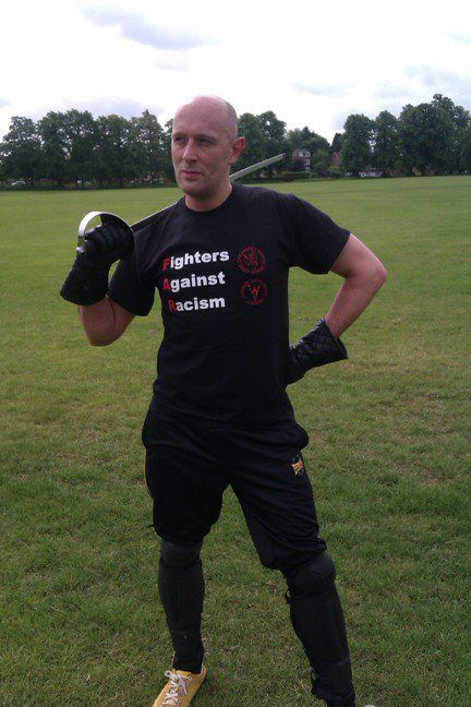 Matt Easton of Schola Gladiatoria - sword fighting classes in London