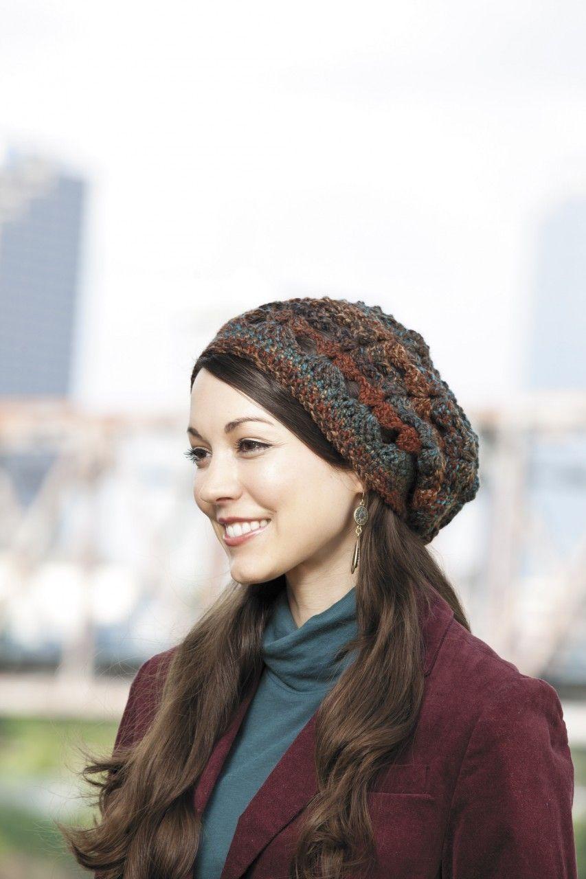 Crochet Slouchy Beanies & Headwraps | Pinterest