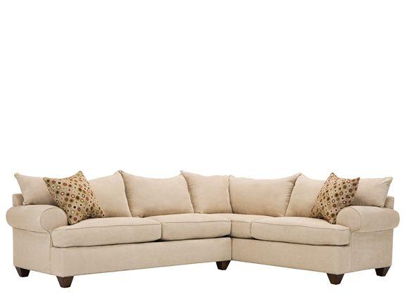 Vegas 2 Pc Sectional Sofa Sofas Raymour And Flanigan