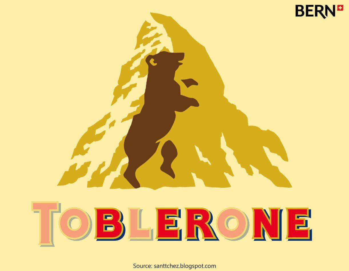 LOGO Toblerone #BERN #BERNE #SUISSE #Chocolat