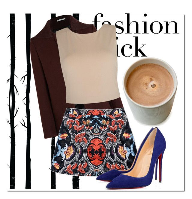 """Fashion street style"" by jesus-rosebitch ❤ liked on Polyvore featuring moda, Dot & Bo, Nicole Farhi, Alice + Olivia y Christian Louboutin"