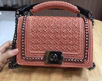 Best 11 Elegant crochet bag, gift for her, 2017 trend, pattern woman bag, evening bag, summer bag, handbag, crochet bag, clutch, crossbody bag