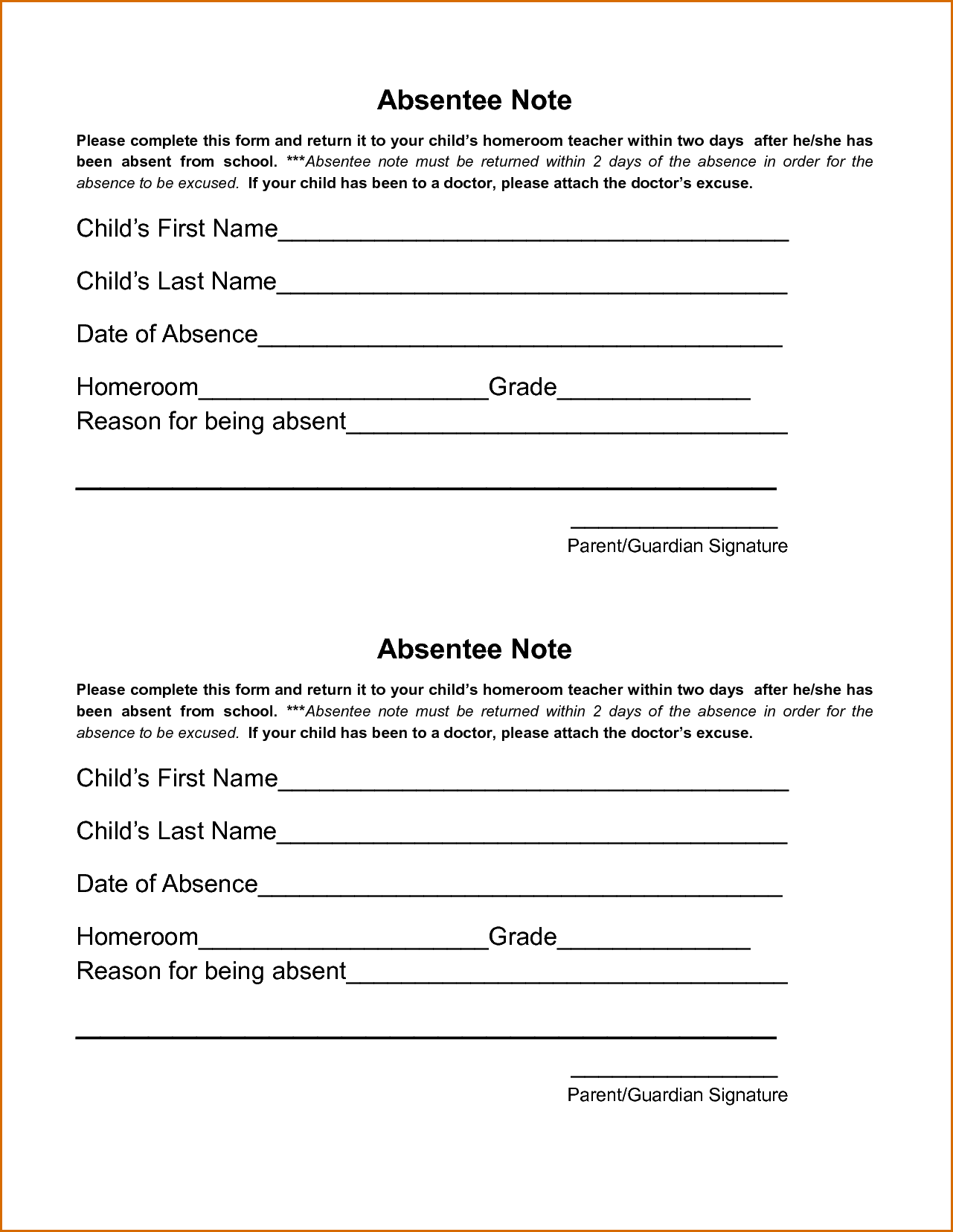 Doctors Excuse Note For Work Template Pictures In
