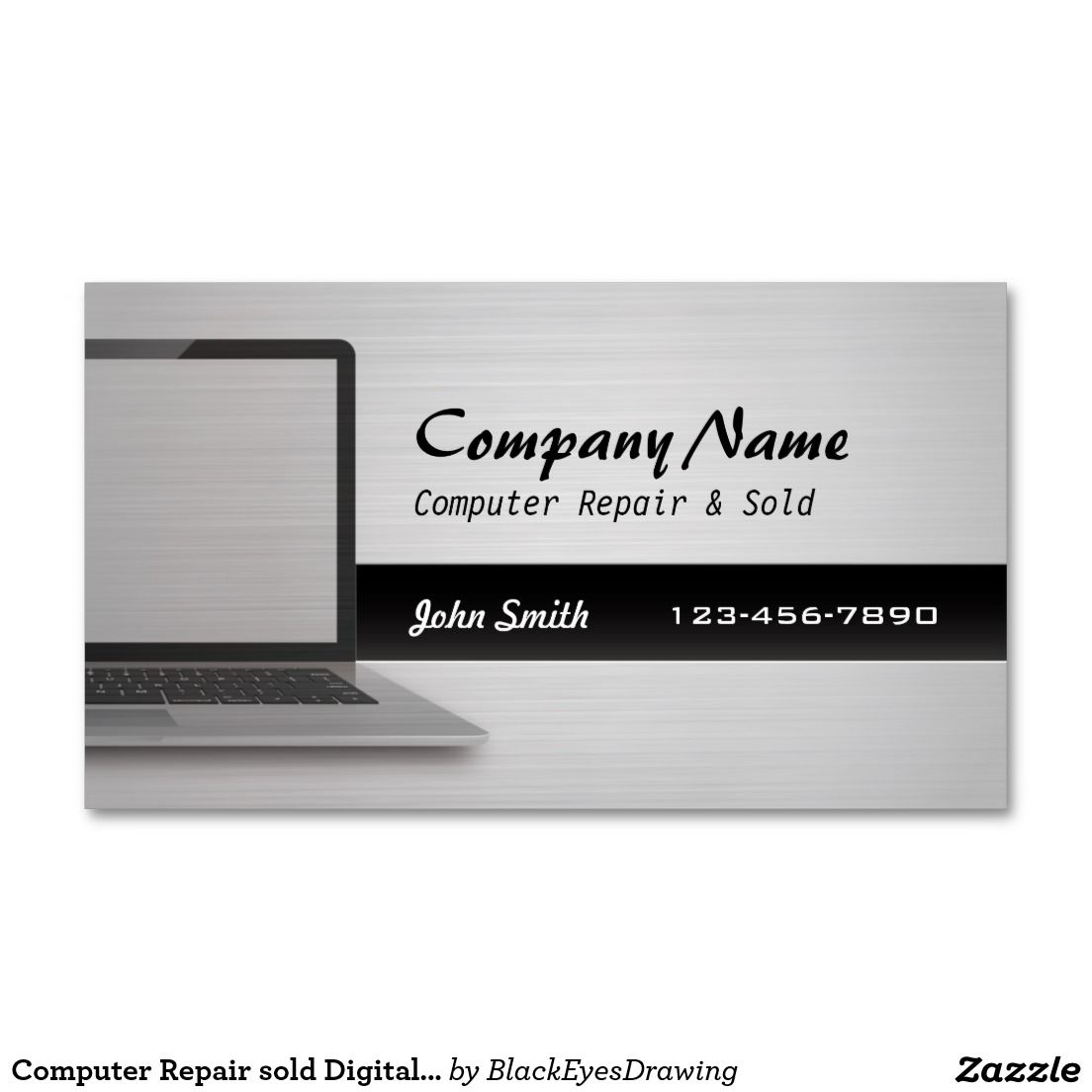 Pc repair business cards gallery free business cards computer repair sold digital silver business cards business computer repair sold digital silver business cards magicingreecefo magicingreecefo Images