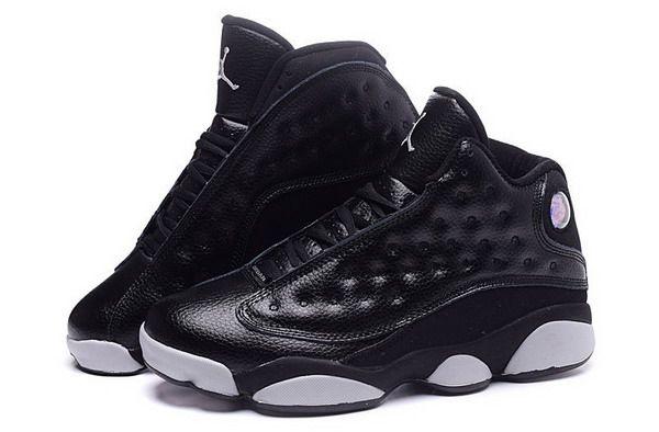 new style 55ad9 11eec ... discount nueva colorway zapatos air jordan retro 13 hombres blanco negro  2d6d4 bee2d