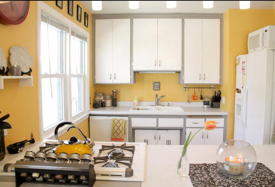 Decorar con amarillo: Juguemos con el color   Cocinas / Kitchens ...