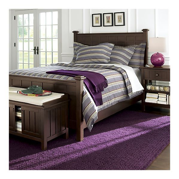 Dream Bedroom... I Love Gray And Purple Together-but I