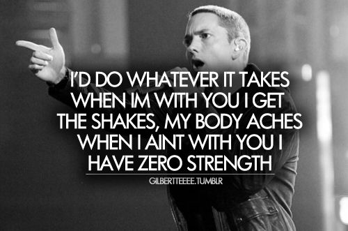 Eminem Lyric Quotes Quotesgram Eminem Quotes Eminem