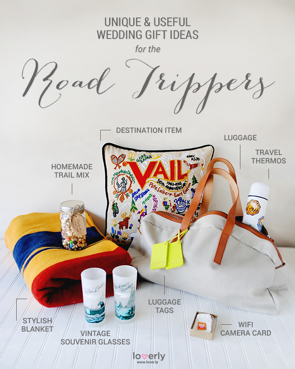 Wedding Tip Gift Ideas For The Road Trippers In Your Life Roadtrip