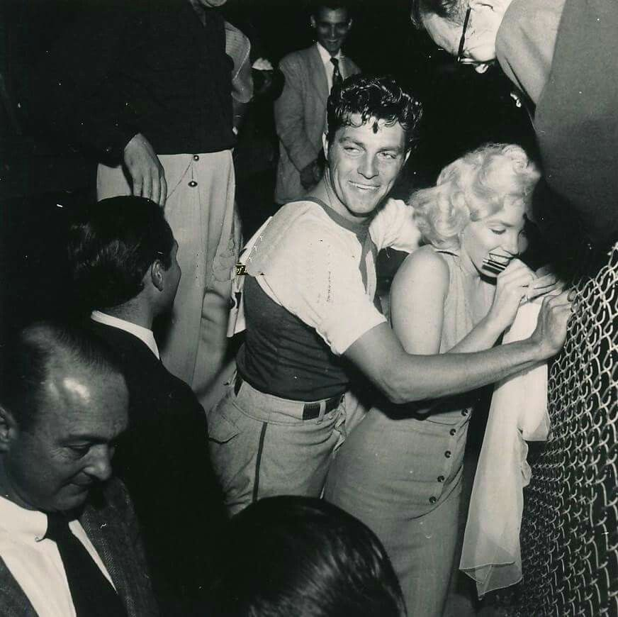 Ted Evans Photography: Marilyn With Dale Robertson At The Out Of This World