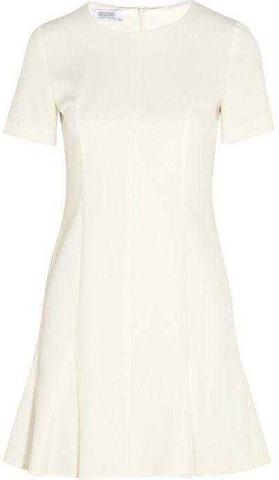Moschino Cheap & Chic Paneled crepe mini dress on shopstyle.com