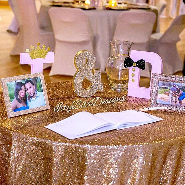 Perfect decor for your #wedding or #engagementparty ! Love this sparkling setup! Ready to order? Click link in bio!
