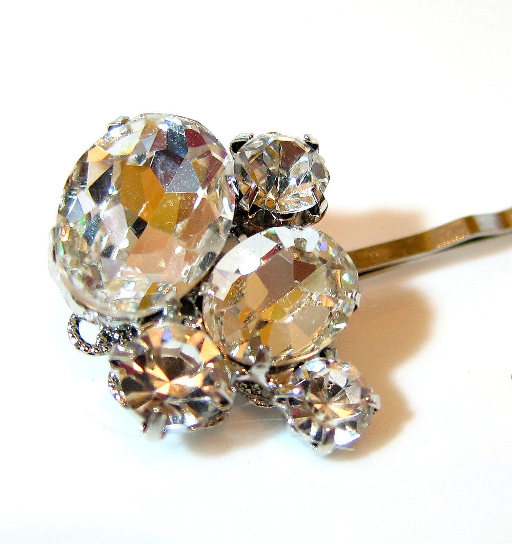 Maybe for my bridesmaids?   Wedding hair pins, Bridal hair ...