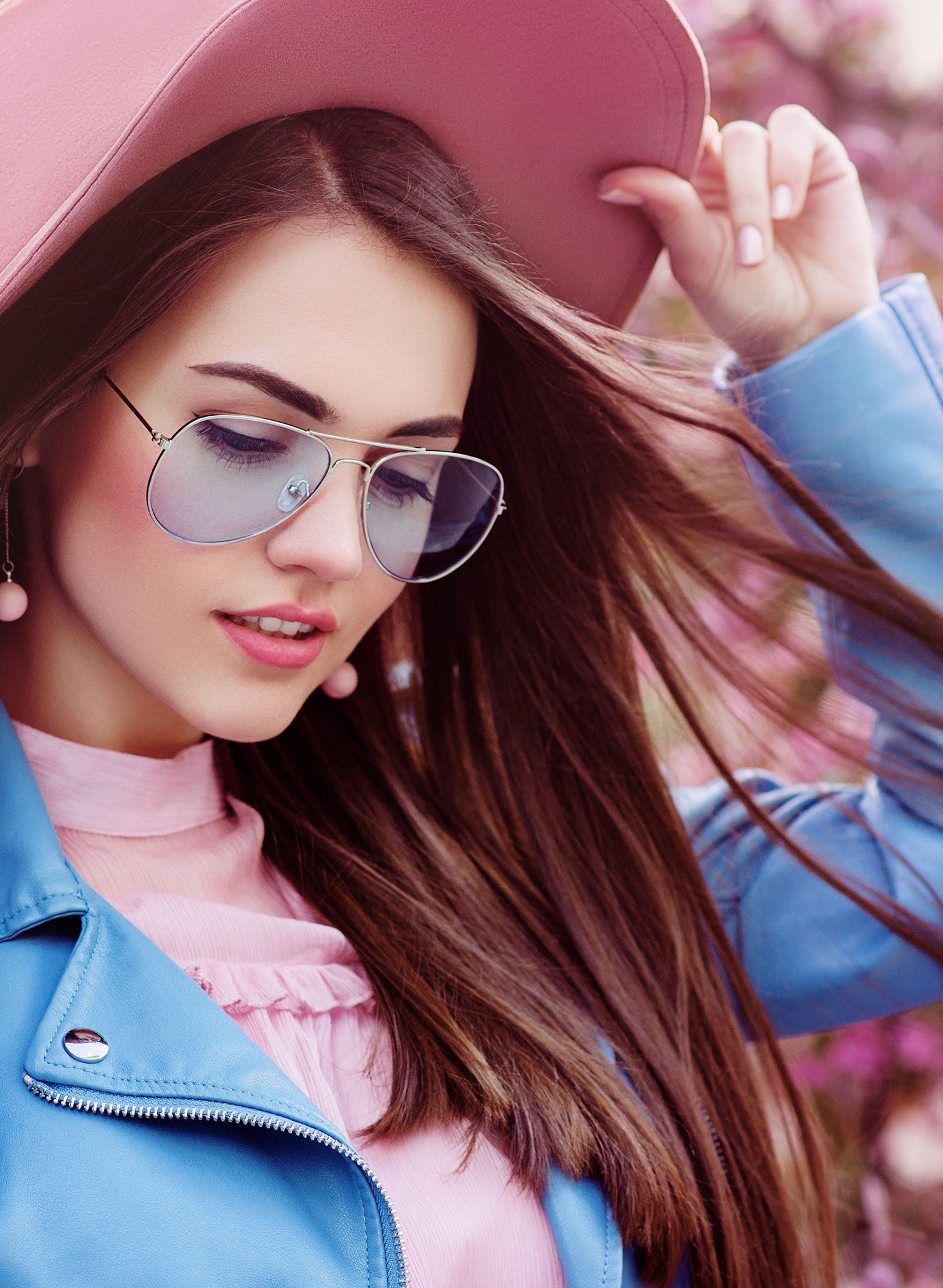 Boss Lady Oversized Classic Aviator Sunglasses in different cool colors