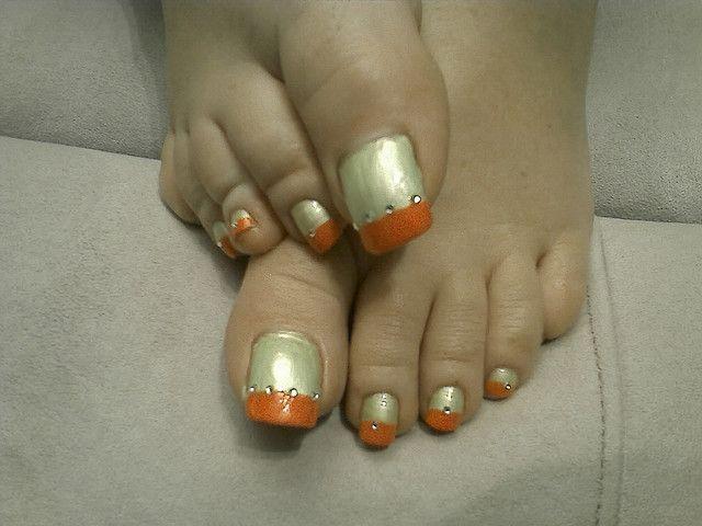 LONG TOE NAILS by lillies feet, via Flickr   nail art   Pinterest ...