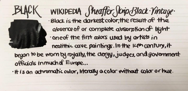 Handwritten Post - Black