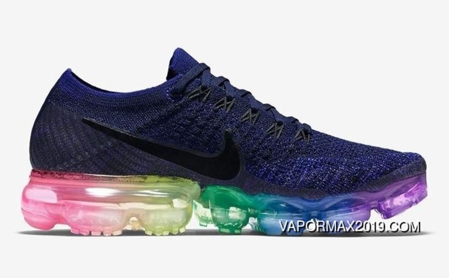 f6292cb47ec8 Nike Air VaporMax Flyknit 2018 Atmospheric Flyknit Mesh Pad Jogging Shoes 7  Colour Discount