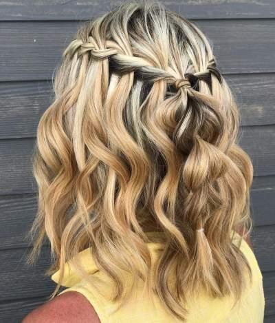30 Waterfall Braid Hairstyles That Looks Flirty And Fashionable Hike N Dip Haar Styling Geflochtene Frisuren Fur Kurze Haare Geflochtene Frisuren Fur Lange Haare