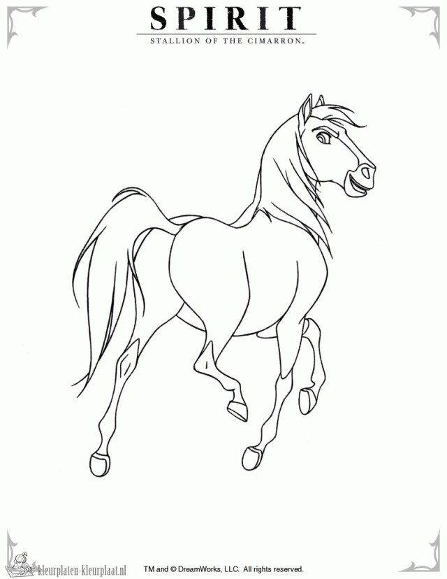 Great Image Of Spirit Coloring Pages Albanysinsanity Com Spirit Drawing Horse Coloring Pages Spirit The Horse