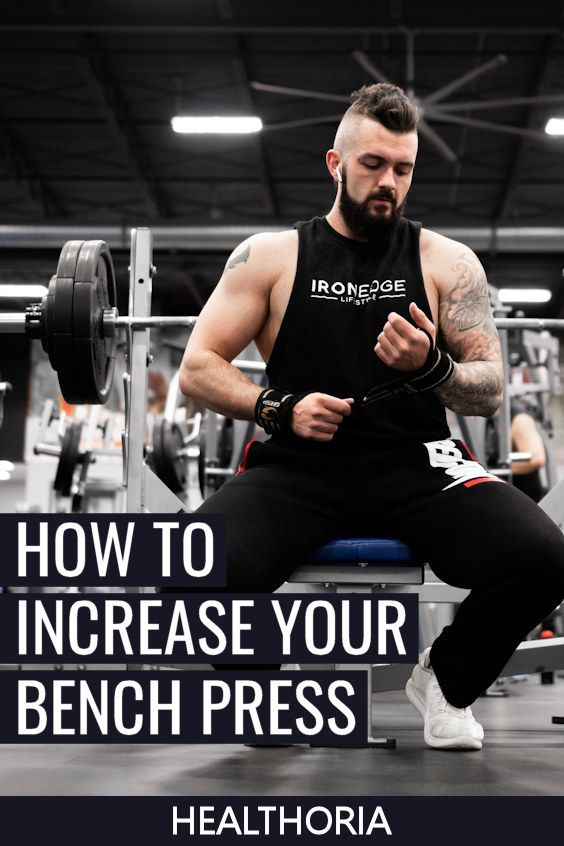 If you've hit a plateau, and bench press the same weight after several weeks, here's how to break a...