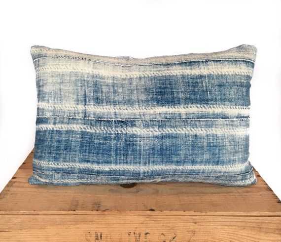 12X20 Pillow Insert Interesting Mudcloth Pillow Vintage Indigo African Mud Cloth Pillow Cover 12X20