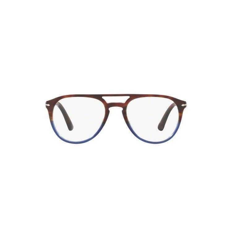 83ee40b45e Persol Men s PO3161V 1049 52 Square Clear Eyeglasses