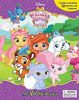 Disney Whisker Haven My Busy Book Phidal Publishing Inc 9782764333792 Amazon Com Books With Images My Busy Books Palace Pets Busy Book