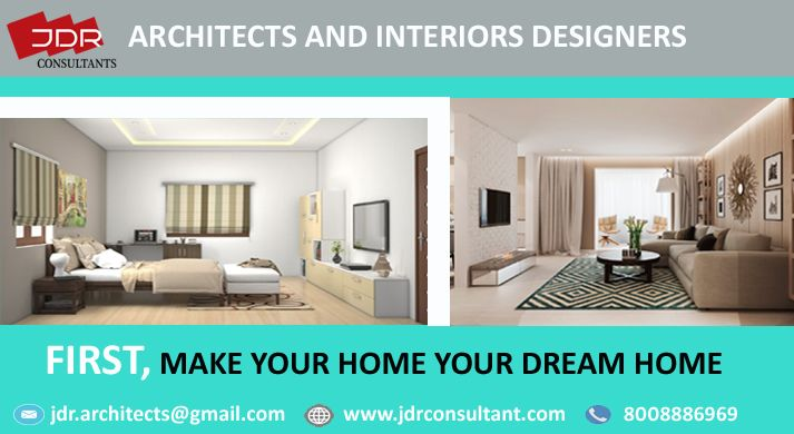 First make your home dream contact jdr consultants best architects and interiors designers also rh pinterest