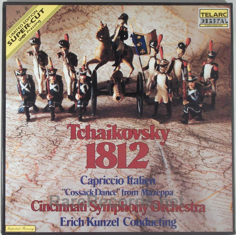 Erich Kunzel Cincinnati Symphony 1812 Overture This Limited Edition Ultra High Quality Record Uhqr From Telarc Is So Demand 1812 Overture Overture Orchestra